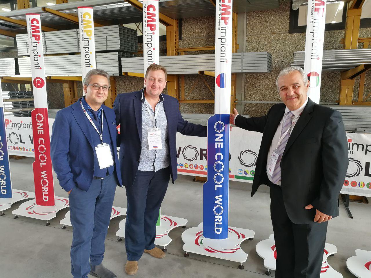 Вентиляционные технологии CMP impianti