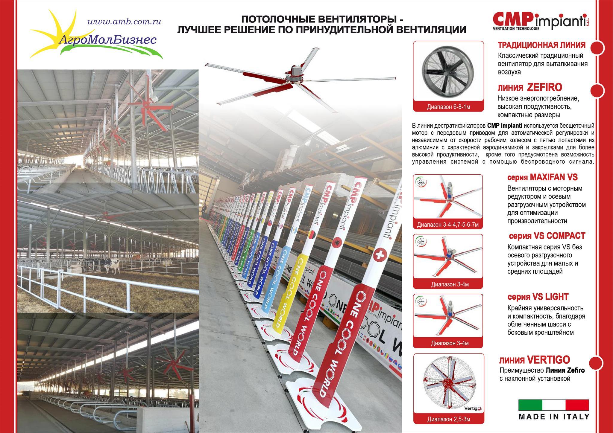 Вентиляционные технологии CMPimpianti